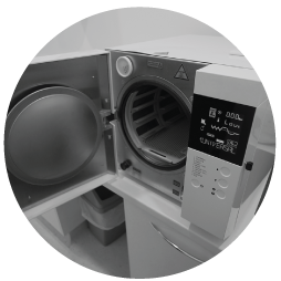 autoclave machinery to sterilise dentist tools