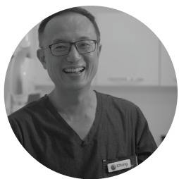 smiling dentist chong lim